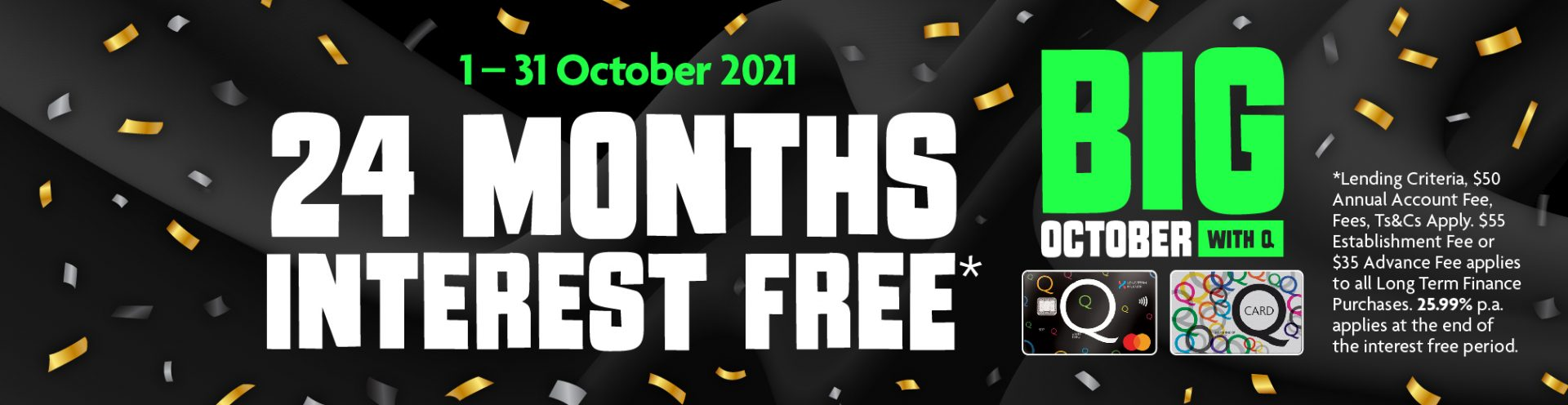 24 Months Interest free banner